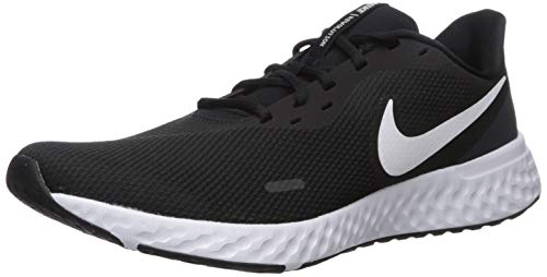 Nike Revolution 5, Zapatillas de Atletismo para Hombre, Multicolor Black White Anthracite 002, 44.5 EU