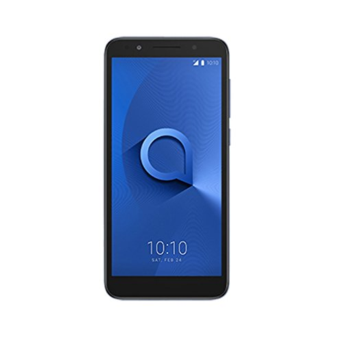 Alcatel 1X - Smartphone de 5.34'(Quad-Core 1.28 GHz, Memoria 16 GB Ampliable hasta MicroSD de 128 GB, Cámara DE 16 MP, Android 8.0) Multicolor