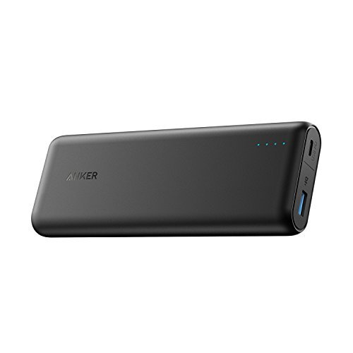 Anker PowerCore Speed 20000 PD[Power Delivery], bateria externa cargador portátil 20100mAh para MacBooks iPhone 8 / X y USB tipo C
