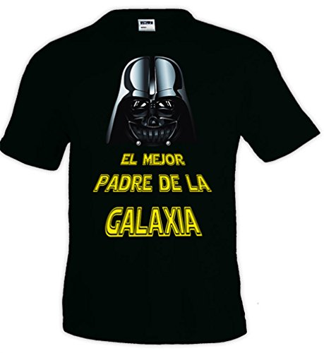Mx Games Camiseta Star Wars Darth Vader,el Mejor Padre Todas Las Tallas Disponibles (Talla: Talla XXL Unisex)