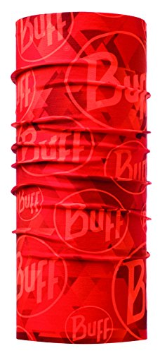Buff Multifunktionstuch Original Pañuelo Tubular, Unisex adulto, Multicolor (Tip Logo Orange Fluor), Talla única