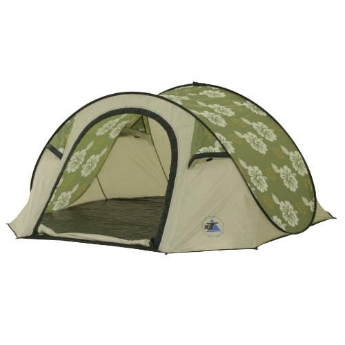 10T Outdoor Equipment 10T Flowerpop 3 Tienda Pop up, Unisex, Gris, Estándar