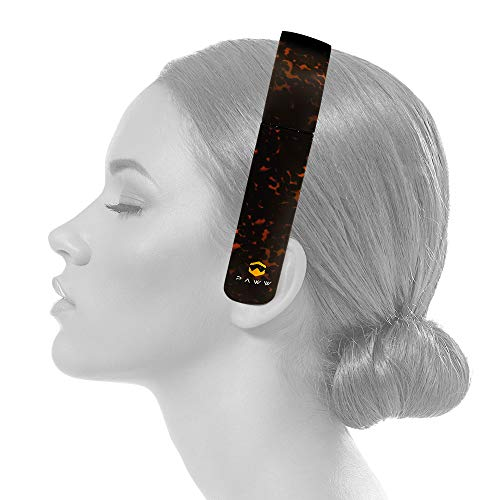Paww SilkSound Headphones - Stylish Foldable On-Ear Wireless Bluetooth Handsfree Calling with 8 Hours Playtime for Work Travel or Outdoor Use