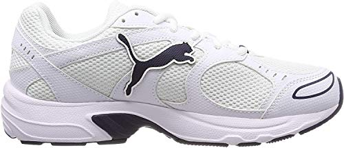 PUMA Axis, Zapatillas Unisex-Adulto, Blanco White/Peacoat, 43 EU