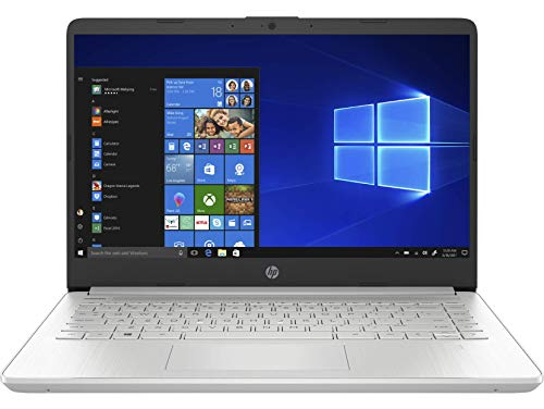 HP 14s-dq1040ns - Ordenador portátil de 14' FullHD (Intel Core i3-1005G1, 8GB RAM, 256GB SSD, Intel UHD Graphics, Windows 10 Home S) plata - Teclado QWERTY Español