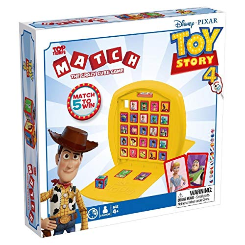 Top Trumps Match Toy Story. Juego de Mesa, color multiple, talla única (Winning Moves 033428)