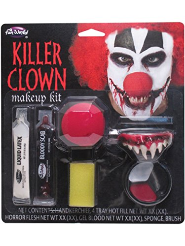 Card and Party Store Maquillaje Killer Clown