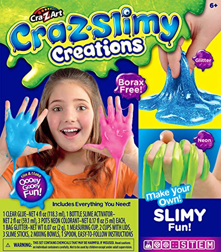 Cra-Z-Slimy 28821 Creaciones baboso Divertido Kit