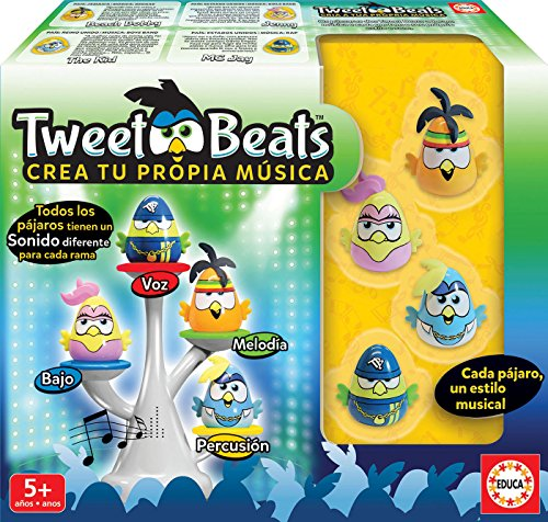 Educa Borrás- Tweet Beats, Multicolor (17911)