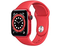 AppleWatch Series6 (GPS+Cellular, 40 mm) Caja de aluminio (PRODUCT)RED - Correa deportiva (PRODUCT)RED