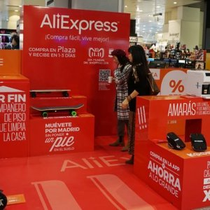 El Corte Inglés y AliExpress se unen para abrir una 'pop up' en Madrid